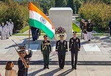 Chief of Defence Staff General Bipin Rawat in Washington, on 1 October 2021   ANI photo