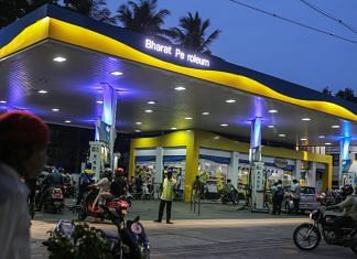 Motorists approach s a Bharat Petroleum Corp. petrol station in Chennai, India, on 1 July 2021| Representational image| Photographer: Dhiraj Singh/Bloomberg