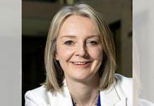 File photo of UK Foreign Secretary Elizabeth Truss   Twitter/@trussliz