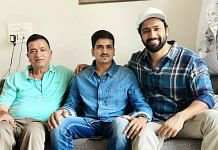 Narendra Desai with actor Vicky Kaushal.