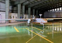A Heron Mk 1 at the Misamari base of the Army. | Photo: Nirmal Poddar/ThePrint