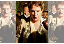 Priyanka Gandhi was arrested Tuesday after being detained in a guest house in Sitapur district, Uttar Pradesh   Photo: PTI.