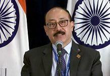 File photo of Foreign Secretary Harsh Vardhan Shringla   ANI photo