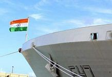 An Indian vessel during the Malabar Exercise | Representational image | ANI Photo