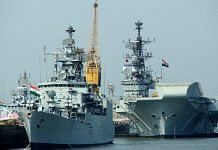 Representational image of Indian Navy ships | Photo: Commons