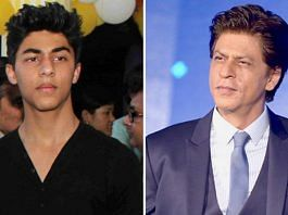 File images of actor Shah Rukh Khan and his son Aryan   ThePrint