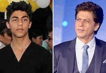 Actor Shah Rukh Khan and his son Aaryan   ThePrint