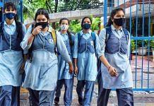 Representational image of school children in New Delhi | ANI photo